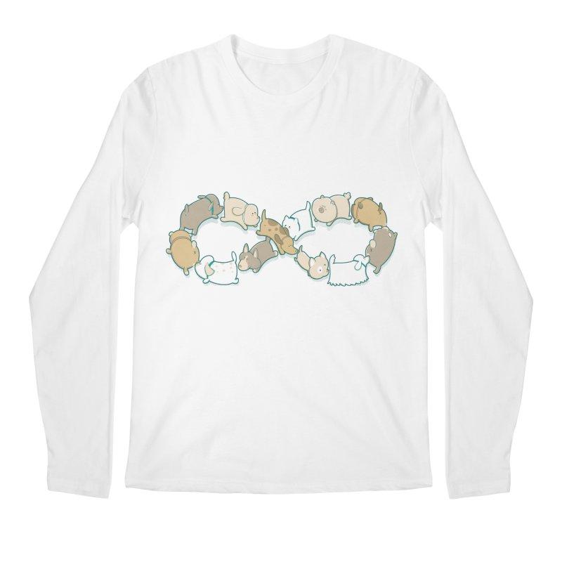 Moebis Butt Sniff Men's Regular Longsleeve T-Shirt by The Art of Anna-Maria Jung