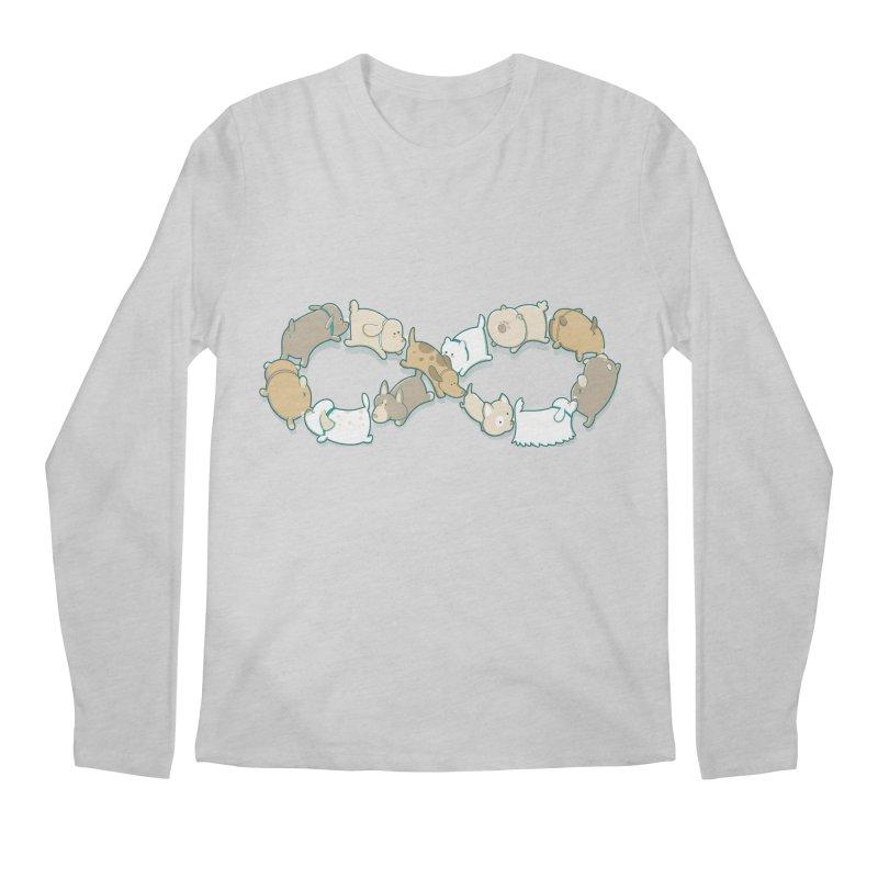 Moebis Butt Sniff Men's Longsleeve T-Shirt by The Art of Anna-Maria Jung
