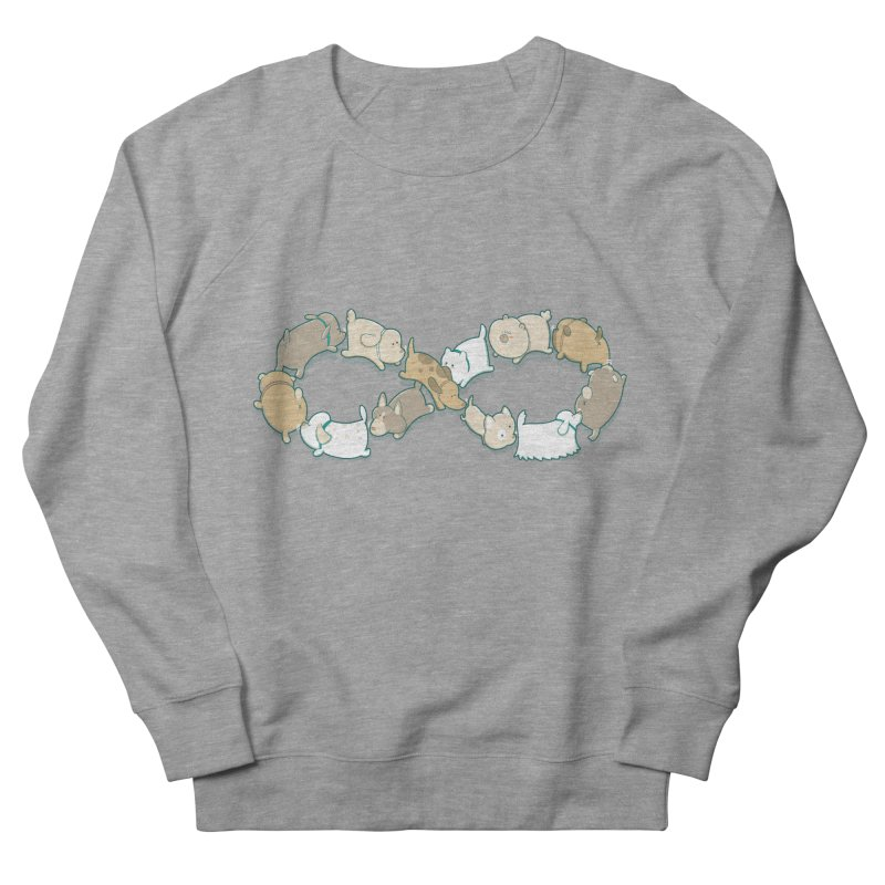 Moebis Butt Sniff Women's French Terry Sweatshirt by The Art of Anna-Maria Jung