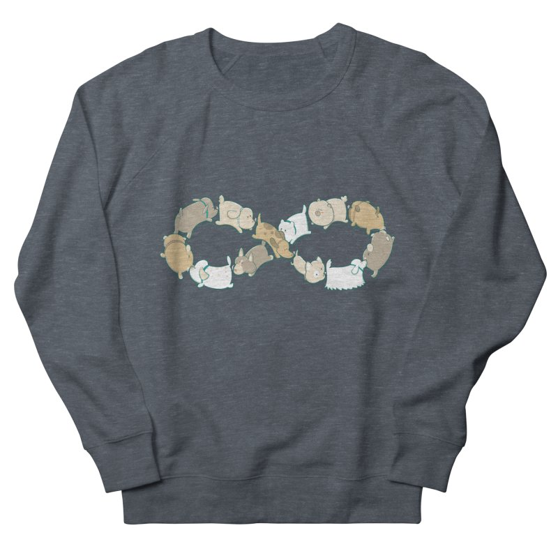 Moebis Butt Sniff Men's French Terry Sweatshirt by The Art of Anna-Maria Jung