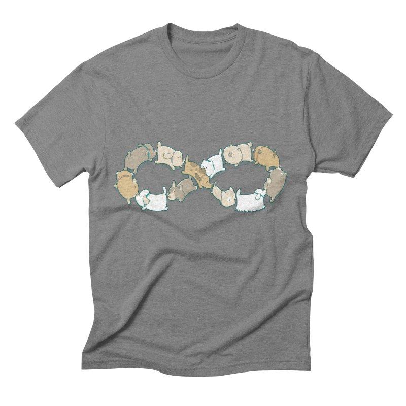 Moebis Butt Sniff Men's Triblend T-shirt by The Art of Anna-Maria Jung