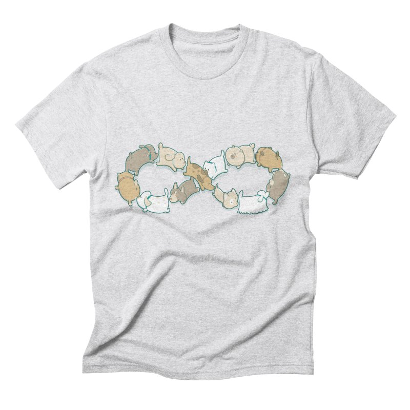 Moebis Butt Sniff Men's Triblend T-Shirt by The Art of Anna-Maria Jung