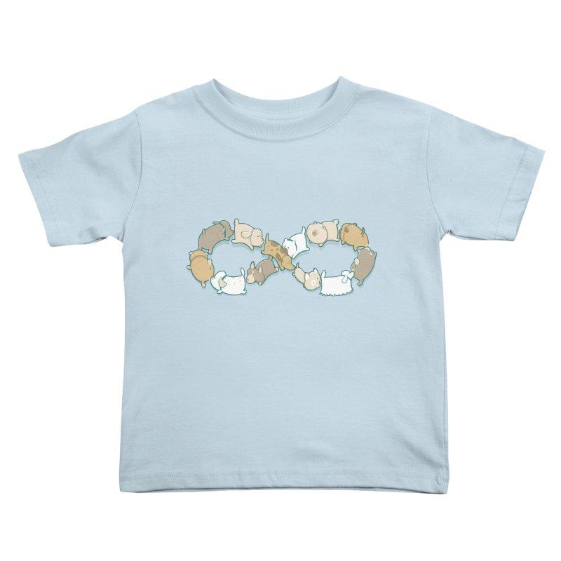 Moebis Butt Sniff Kids Toddler T-Shirt by The Art of Anna-Maria Jung