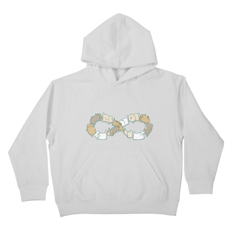 Moebis Butt Sniff Kids Pullover Hoody by The Art of Anna-Maria Jung