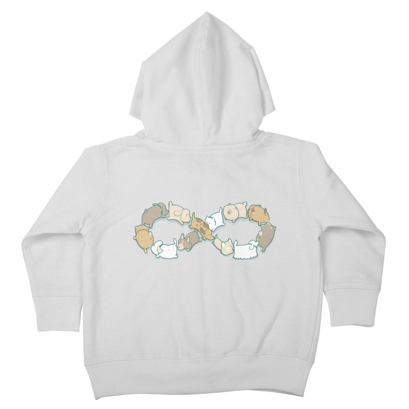 Moebis Butt Sniff Kids Toddler Zip-Up Hoody by The Art of Anna-Maria Jung