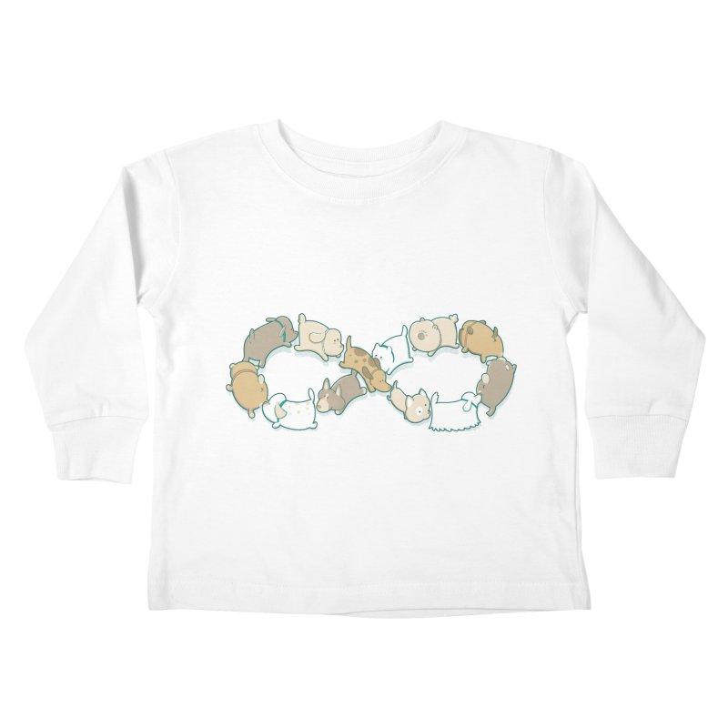 Moebis Butt Sniff Kids Toddler Longsleeve T-Shirt by The Art of Anna-Maria Jung