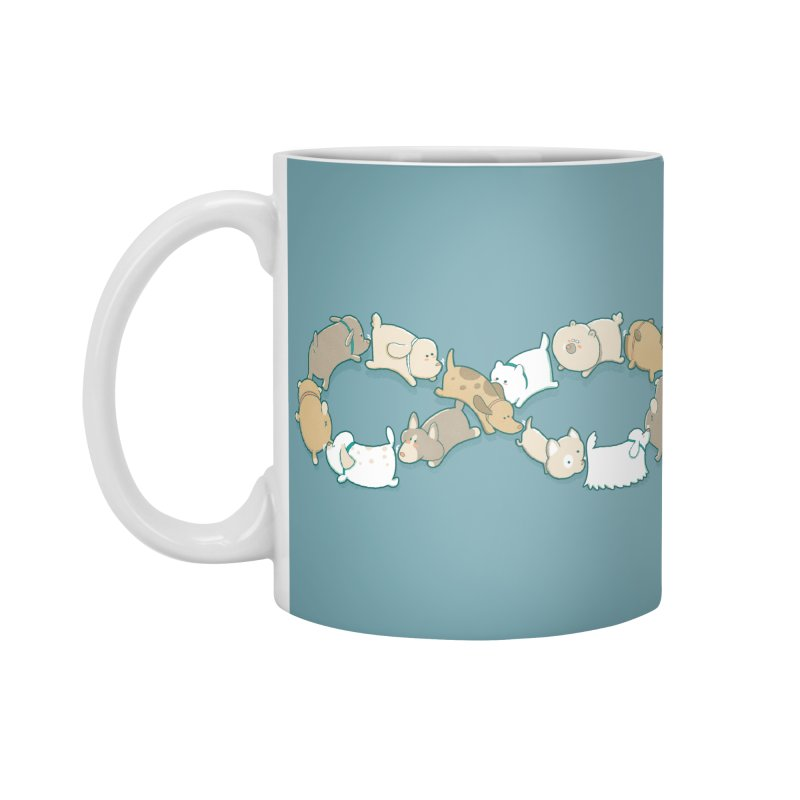Moebis Butt Sniff Accessories Mug by The Art of Anna-Maria Jung