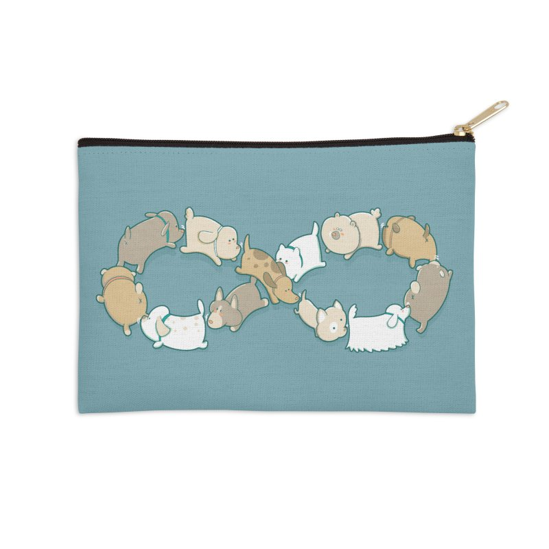 Moebis Butt Sniff Accessories Zip Pouch by The Art of Anna-Maria Jung