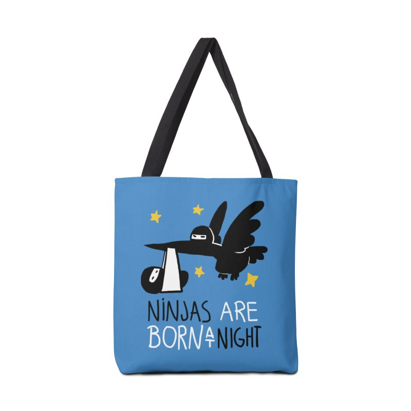 Ninjas are born at night Accessories Bag by The Art of Anna-Maria Jung