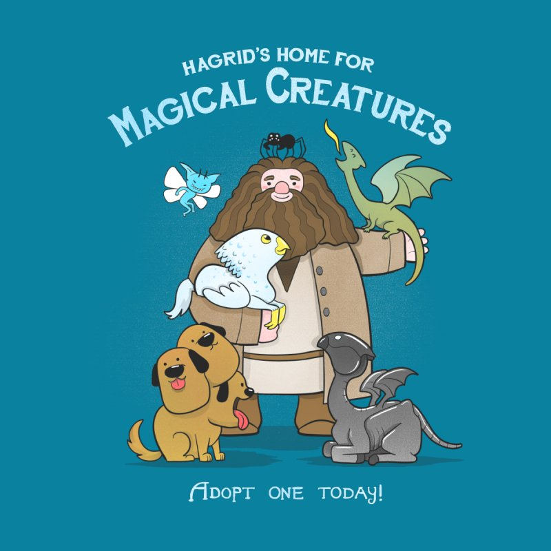 Home For Magical Creatures   by The Art of Anna-Maria Jung