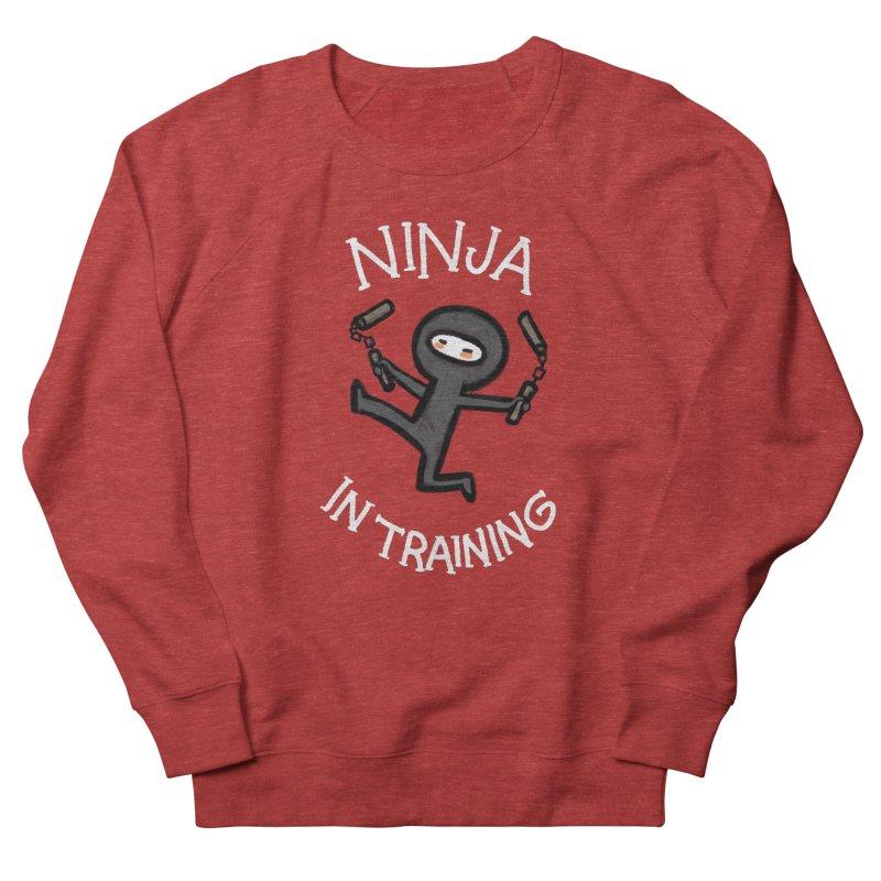 Ninja In Training Women's Sweatshirt by The Art of Anna-Maria Jung