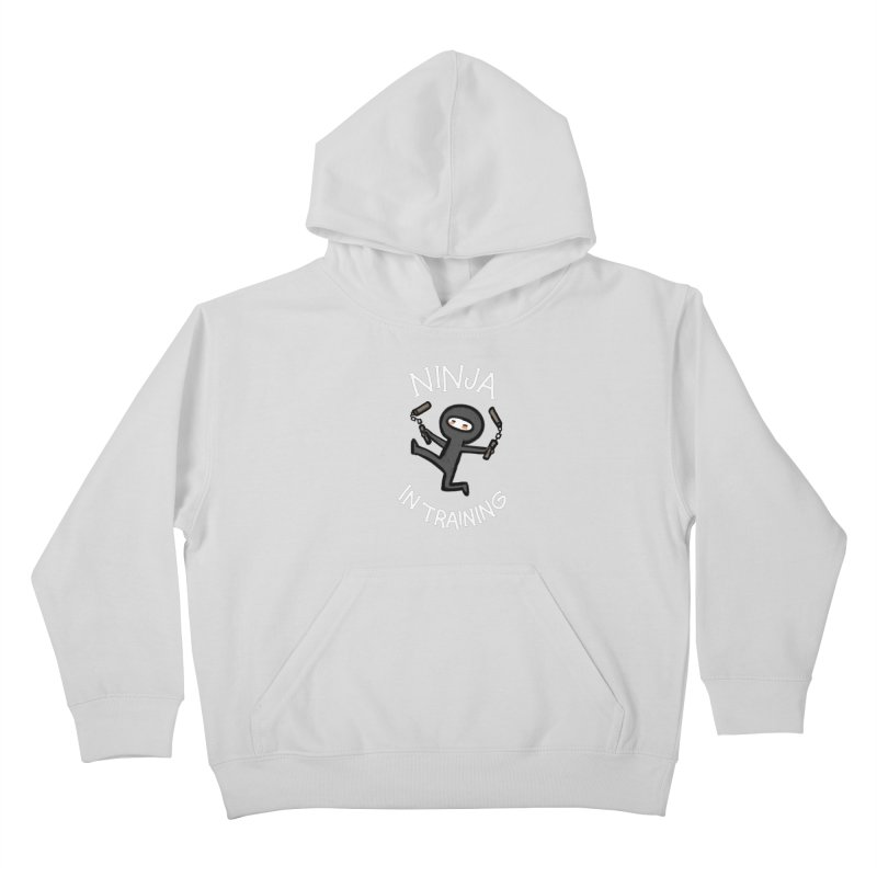 Ninja In Training Kids Pullover Hoody by The Art of Anna-Maria Jung