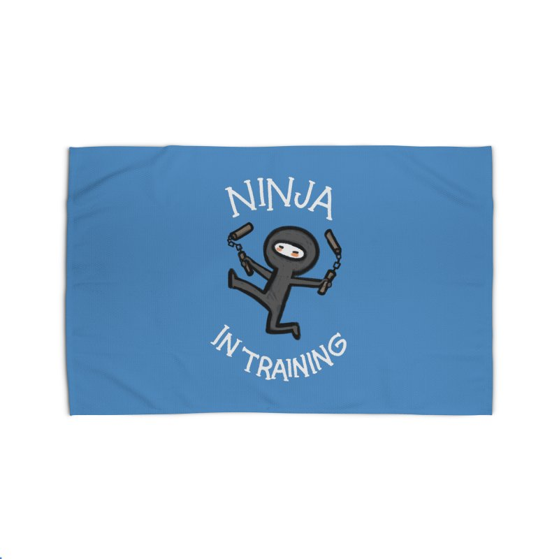 Ninja In Training Home Rug by The Art of Anna-Maria Jung
