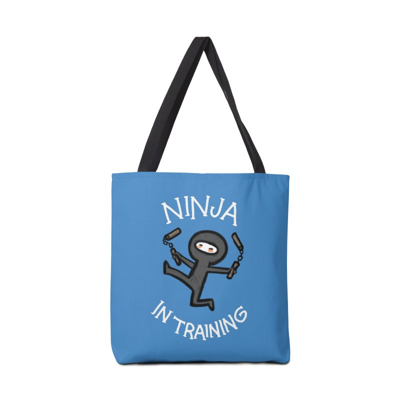 Ninja In Training Accessories Bag by The Art of Anna-Maria Jung