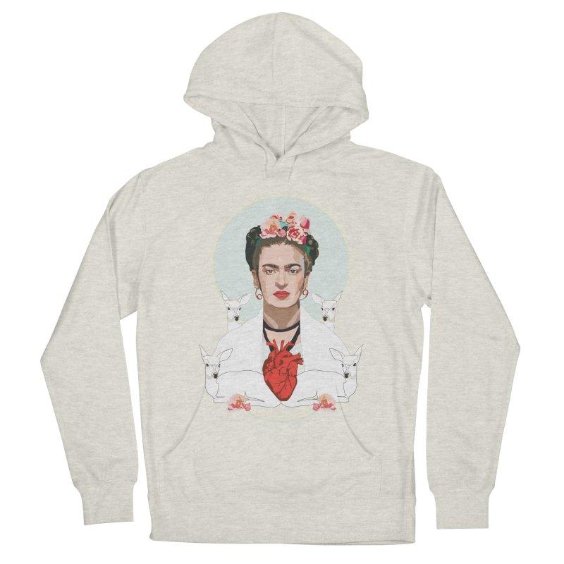 Frida Kahlo (Light) Men's Pullover Hoody by Anna McKay's Artist Shop