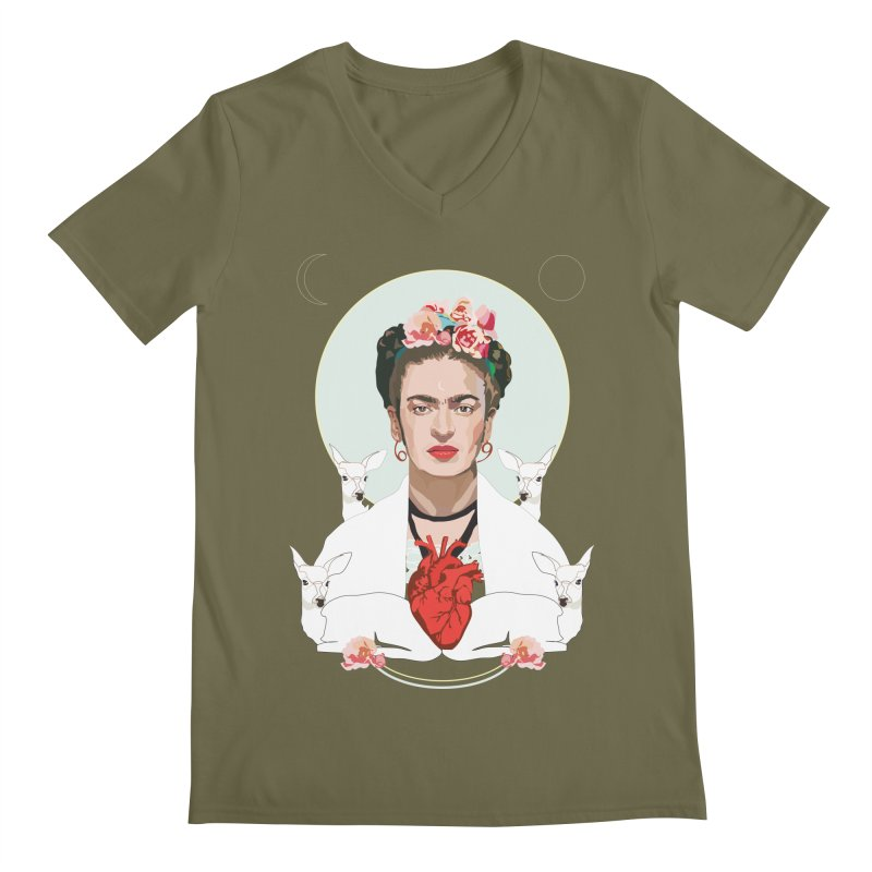 Frida Kahlo (Light)   by Anna McKay's Artist Shop