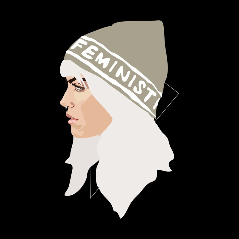 Feminist (Silver) None  by Anna McKay's Artist Shop