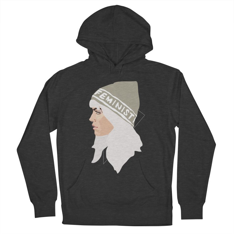 Feminist (Silver) Women's Pullover Hoody by Anna McKay's Artist Shop