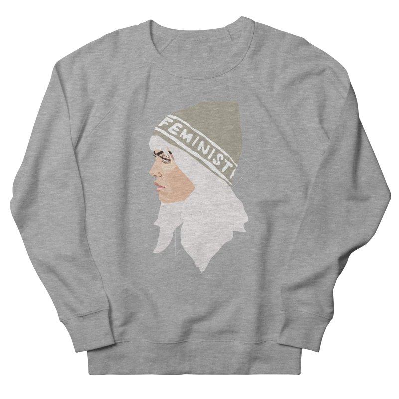 Feminist (Silver) Women's Sweatshirt by Anna McKay's Artist Shop