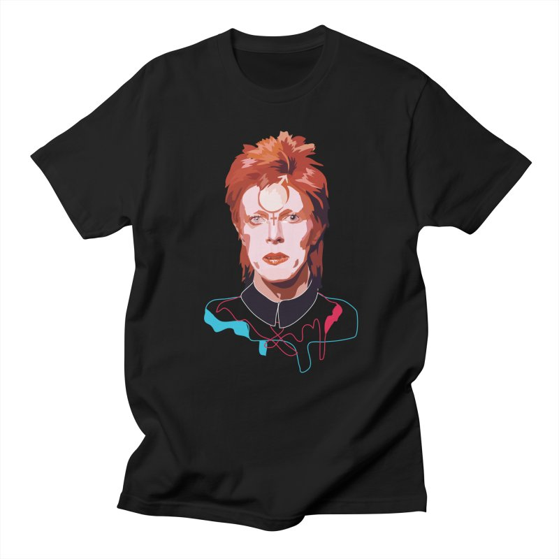 Bowie Men's T-shirt by Anna McKay's Artist Shop