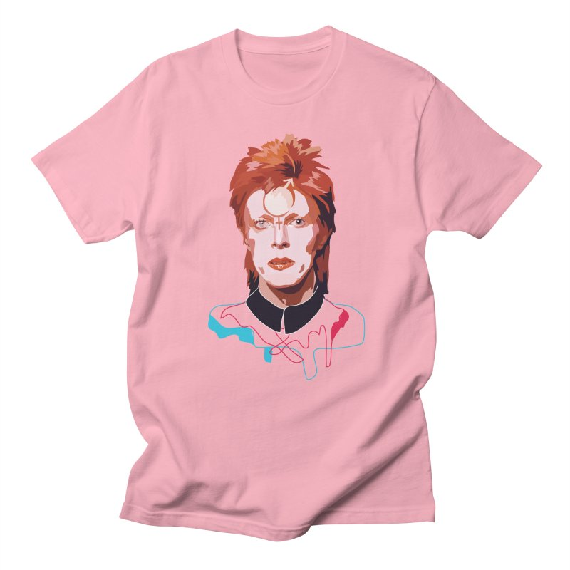 Bowie Men's T-shirt by Anna McKay's Artist Shop