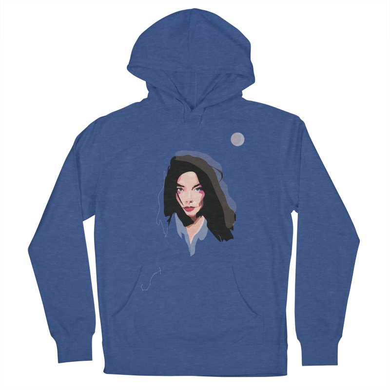 Bjork Women's Pullover Hoody by Anna McKay's Artist Shop