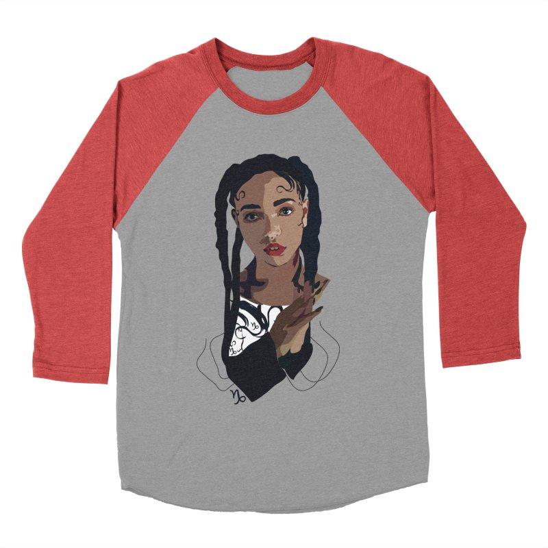 FKA Twigs Men's Baseball Triblend T-Shirt by Anna McKay's Artist Shop
