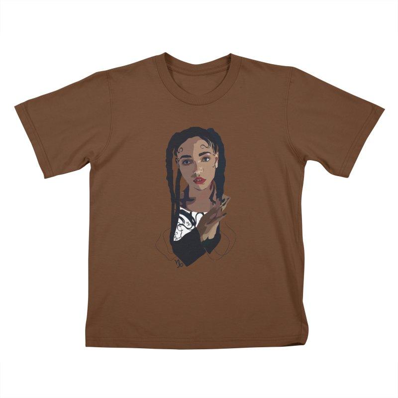 FKA Twigs Kids T-shirt by Anna McKay's Artist Shop