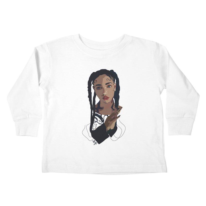 FKA Twigs Kids Toddler Longsleeve T-Shirt by Anna McKay's Artist Shop