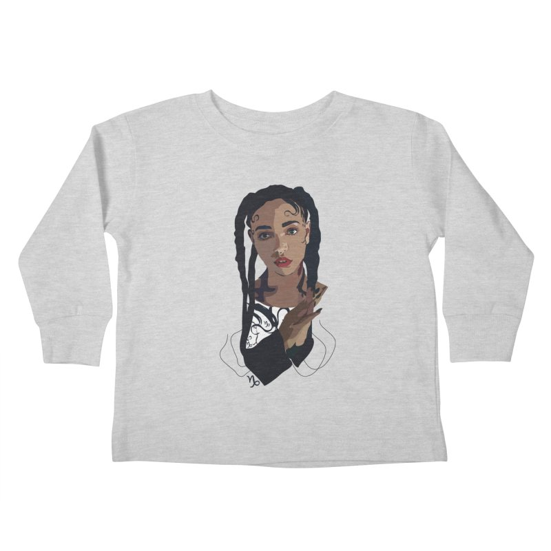 FKA Twigs Kids Toddler Longsleeve T-Shirt by Anna McKay's Artist Shop