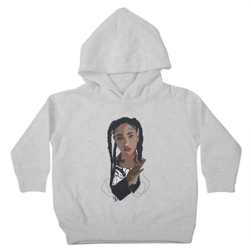 FKA Twigs Kids Toddler Pullover Hoody by Anna McKay's Artist Shop