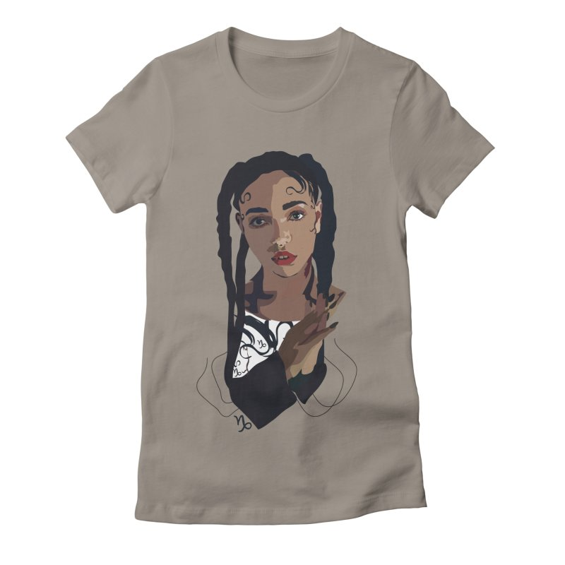 FKA Twigs Women's Fitted T-Shirt by Anna McKay's Artist Shop