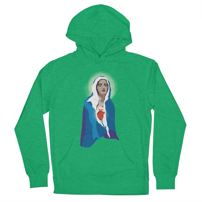 Virgin of Guadalupe Women's Pullover Hoody by Anna McKay's Artist Shop