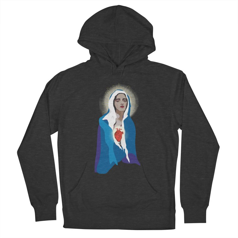 Virgin of Guadalupe Men's Pullover Hoody by Anna McKay's Artist Shop