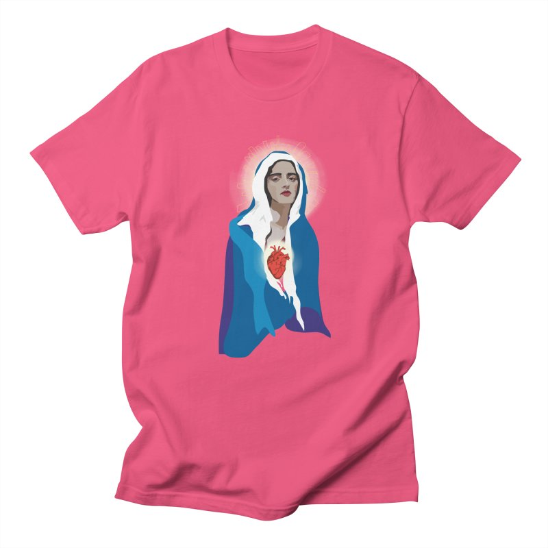 Virgin of Guadalupe Men's T-shirt by Anna McKay's Artist Shop