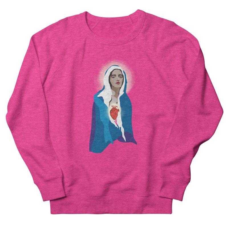Virgin of Guadalupe Men's Sweatshirt by Anna McKay's Artist Shop