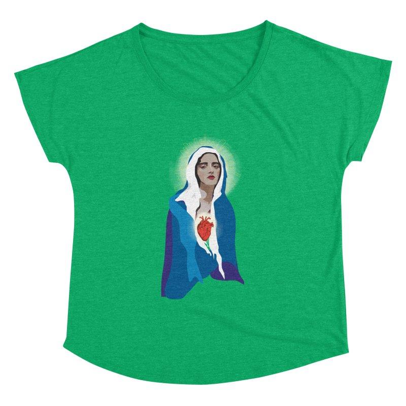 Virgin of Guadalupe Women's Dolman by Anna McKay's Artist Shop