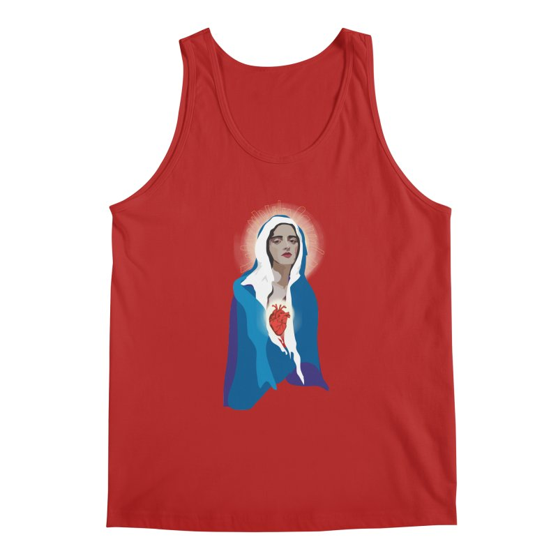 Virgin of Guadalupe Men's Tank by Anna McKay's Artist Shop
