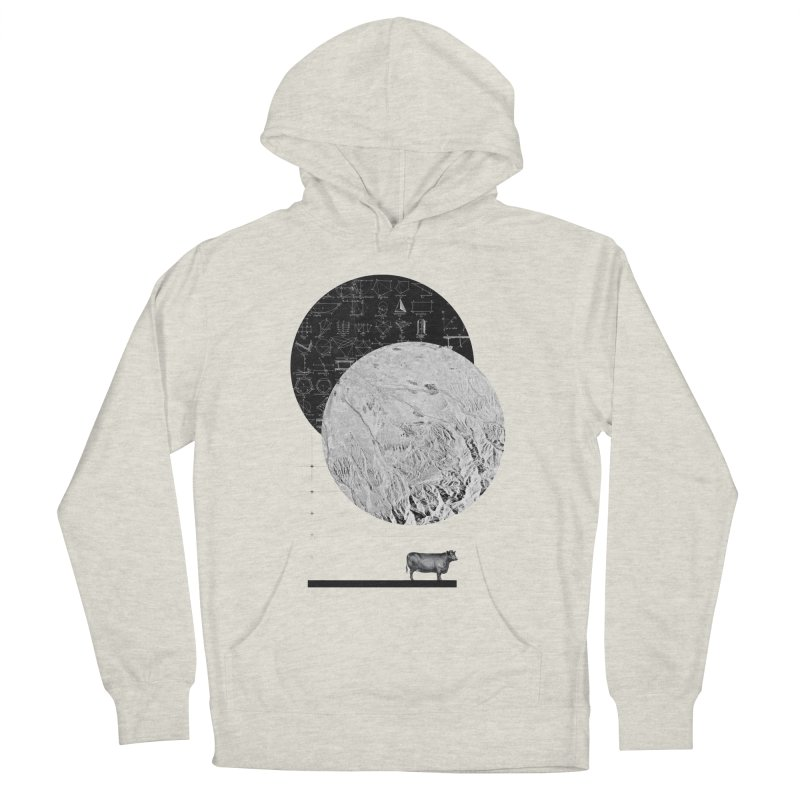 Calculating a Jump Over the Moon Women's Pullover Hoody by Anna Pietrzak