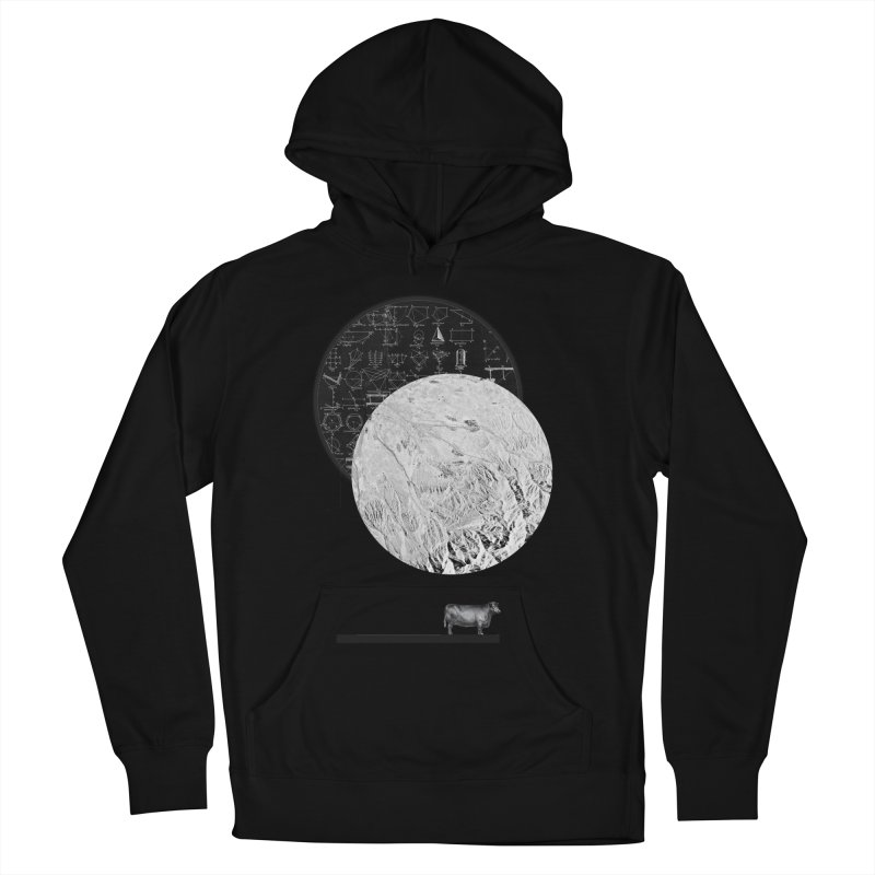 Calculating a Jump Over the Moon Men's Pullover Hoody by Anna Pietrzak