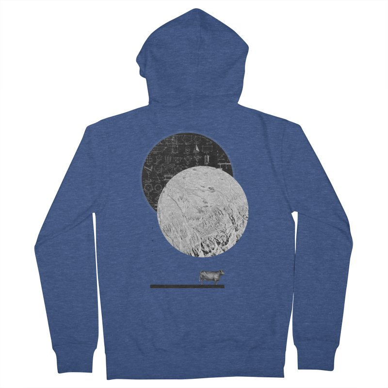 Calculating a Jump Over the Moon Women's Zip-Up Hoody by Anna Pietrzak
