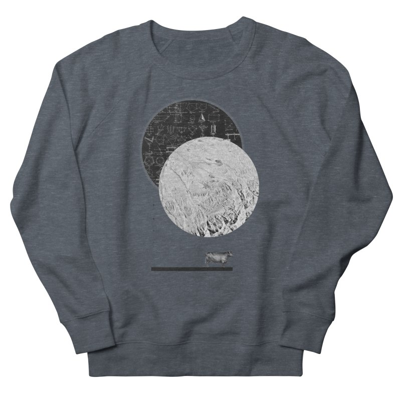 Calculating a Jump Over the Moon Men's Sweatshirt by Anna Pietrzak