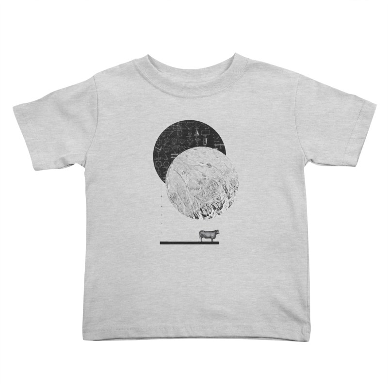 Calculating a Jump Over the Moon Kids Toddler T-Shirt by Anna Pietrzak
