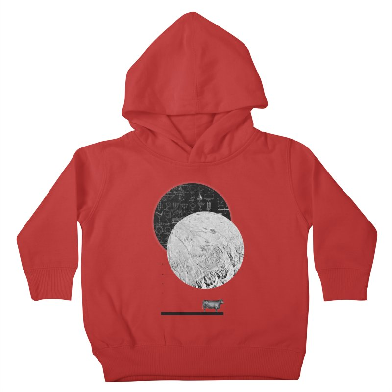 Calculating a Jump Over the Moon Kids Toddler Pullover Hoody by Anna Pietrzak
