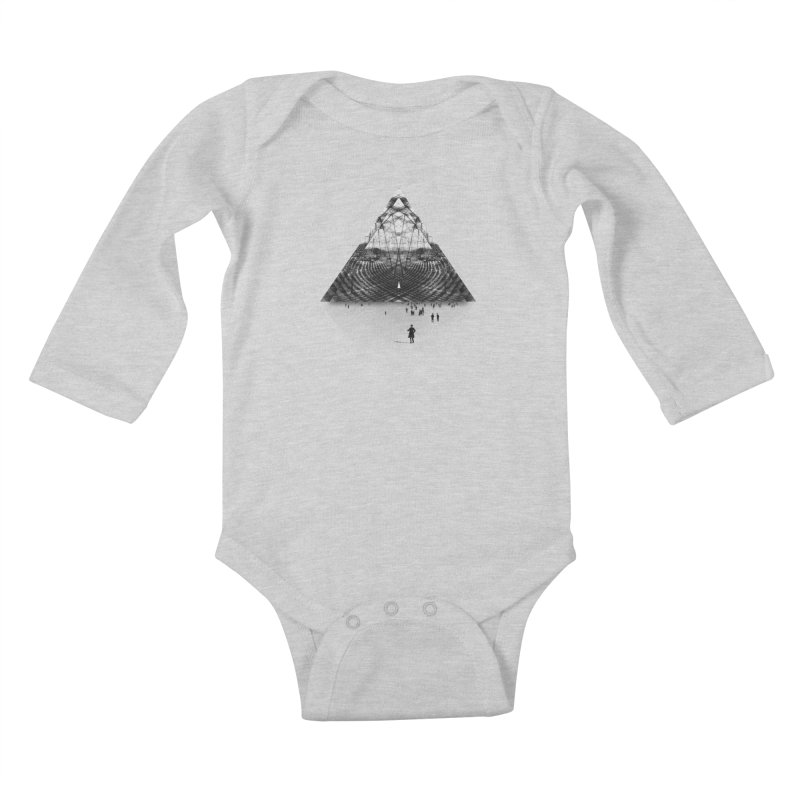 Darkside Kids Baby Longsleeve Bodysuit by Anna Pietrzak