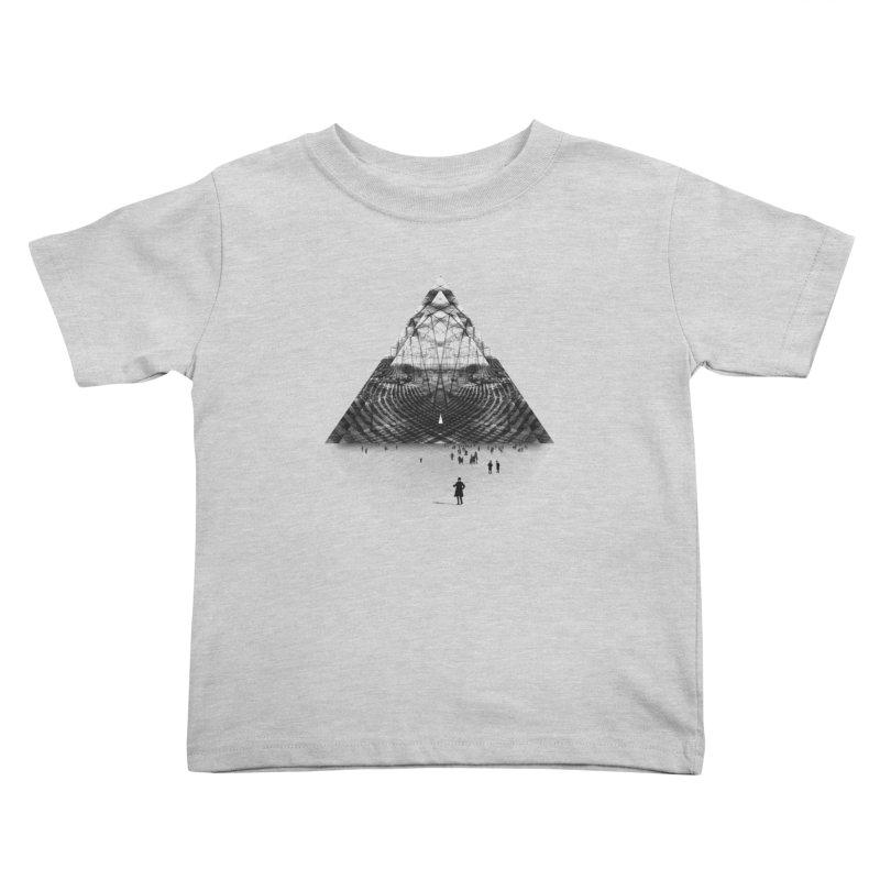 Darkside Kids Toddler T-Shirt by Anna Pietrzak