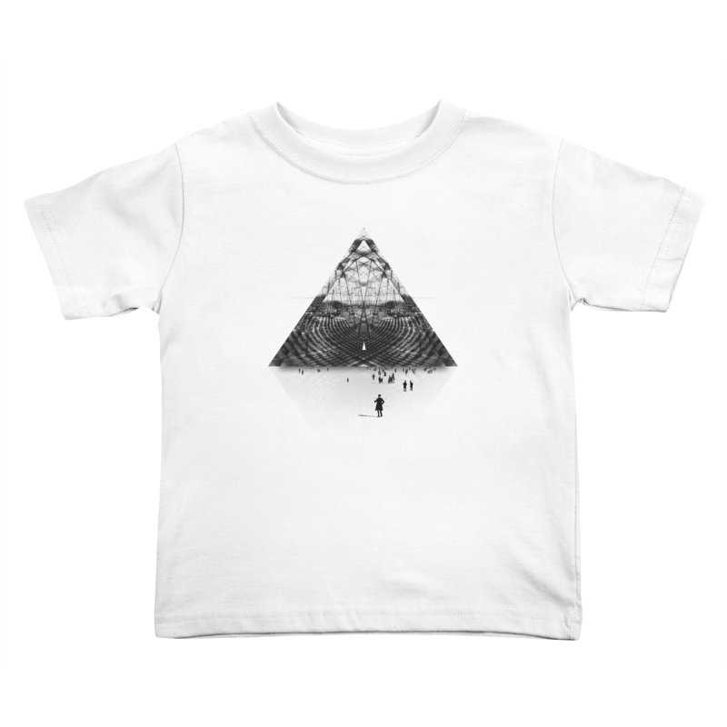 Darkside Kids Toddler T-Shirt by Anna Pietrzak