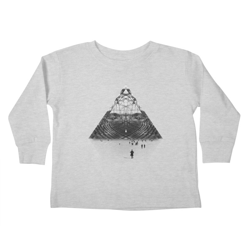 Darkside Kids Toddler Longsleeve T-Shirt by Anna Pietrzak