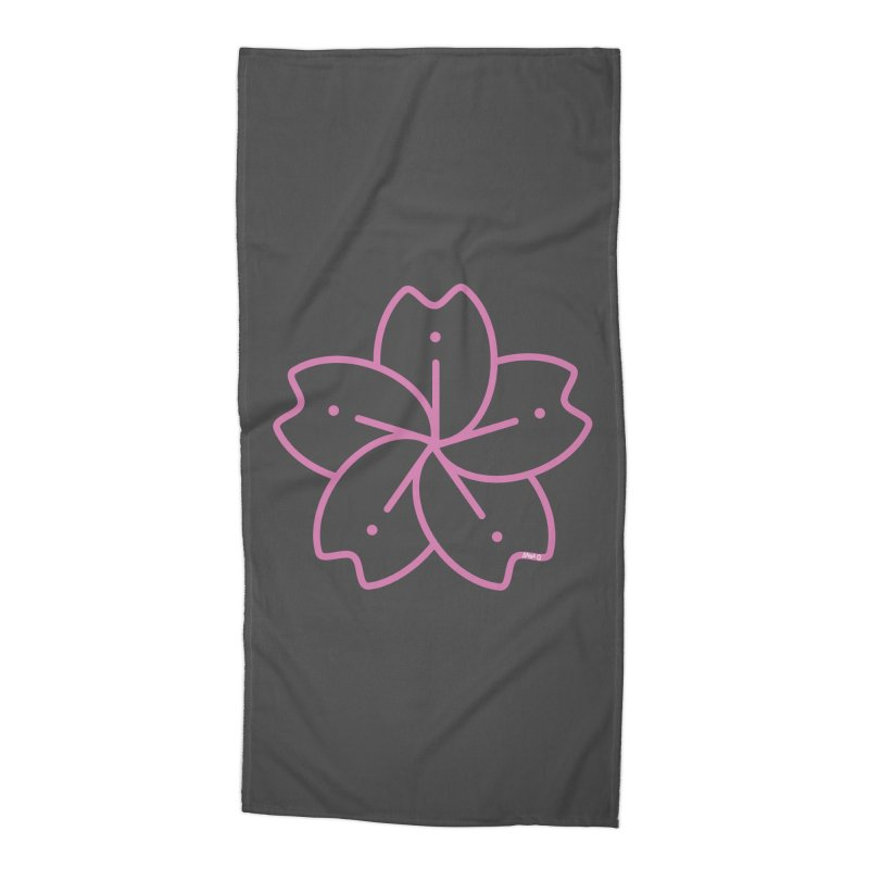 Sakura Accessories Beach Towel by Anna Art X Design