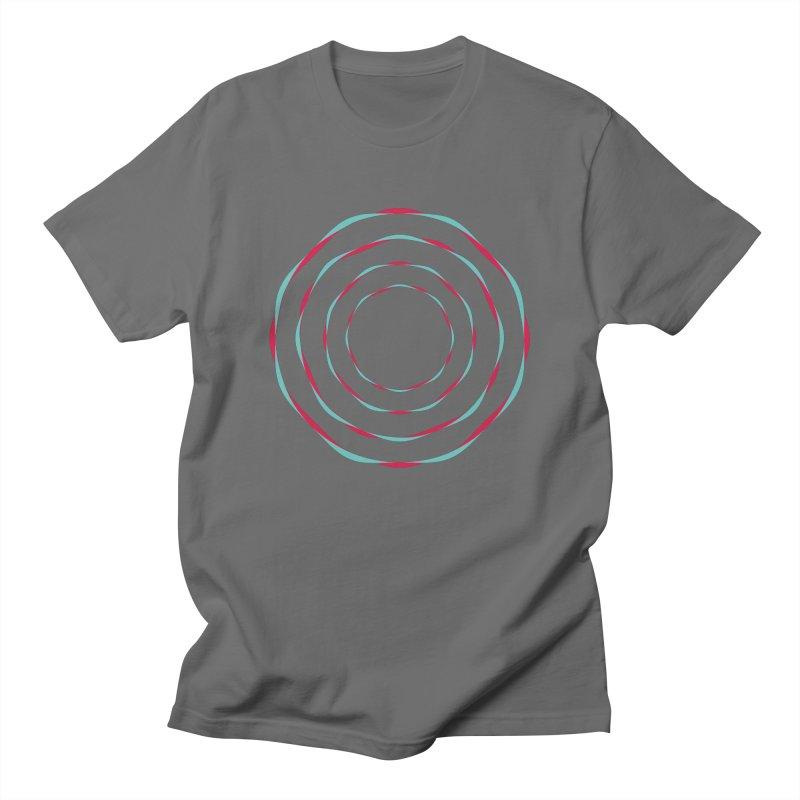 Vortexed Men's T-Shirt by Anna Art X Design